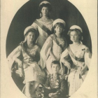 Postcards with the images of monarchs and the members of Royal families