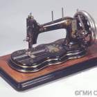 Collection of sewing machines  of 1870-1990-ies